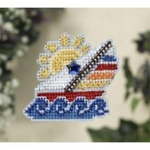 Кораблик Набор для вышивания бисером MILL HILL