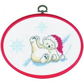 Белый медведь Набор для вышивания PERMIN