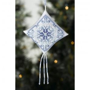 Снежинка Набор для вышивания MILL HILL