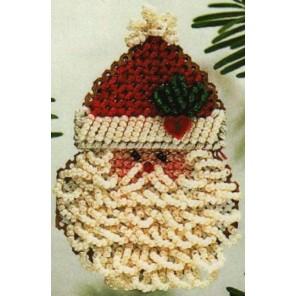 Кудрявый Дед Мороз Набор для вышивания бисером MILL HILL