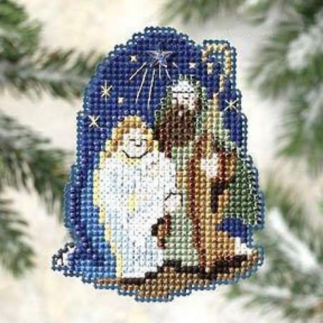 Рождество Набор для вышивания бисером MILL HILL