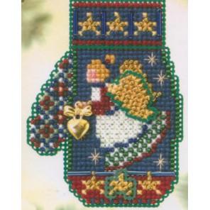 Сердце ангела Набор для вышивания MILL HILL
