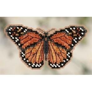 Бабочка Монарх Набор для вышивания бисером MILL HILL