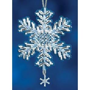 Ледяной кристалл Набор для вышивания бисером MILL HILL