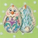 Белый цыпленок Набор для вышивания MILL HILL