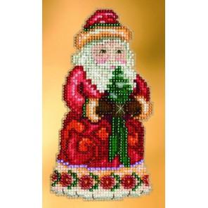 Рождественское приветствие Санты Набор для вышивания MILL HILL