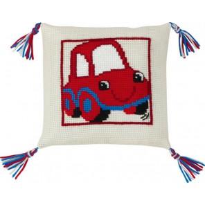 Красный автомобиль Набор для вышивания подушки PERMIN