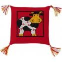 Корова Набор для вышивания подушки PERMIN