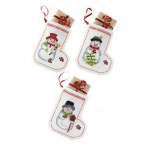 Рожденственские носки Набор для вышивания сапожка для подарков PERMIN