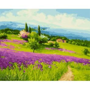 Очарование Прованса Раскраска картина по номерам на холсте GX23893