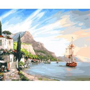 Тихая гавань Раскраска по номерам на холсте GX23863