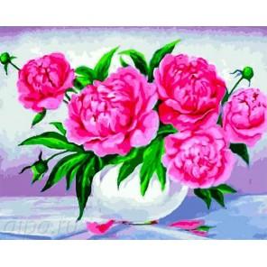 Розовое великолепие Раскраска по номерам на холсте GX23538