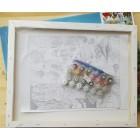Холст на деревянном подрамнике Раскраска картина по номерам акриловыми красками на холсте