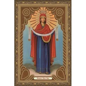 Покров Пресвятой Богородицы Алмазная мозаика вышивка Painting Diamond CDX006