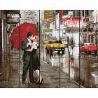Вдвоем в Нью-Йорке Картина по номерам на дереве GXT5003