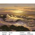 Сложность и количество цветов Океанский прибой Раскраска картина по номерам на холсте 910-AB