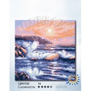 1_ Морская Раскраска по номерам на холсте Hobbart