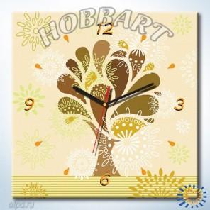 1_ Древо жизненной силы Часы-раскраска по номерам на холсте Hobbart