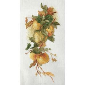 Аромат яблок по рисунку К. Кляйн Набор для вышивания Марья Искусница