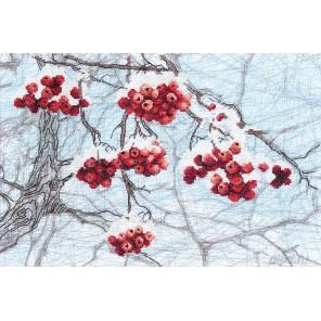 Зимний набросок Набор для вышивания Чаривна Мить