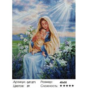 Сложность и количество цветов  Мир женщины Алмазная мозаика на подрамнике GF1371
