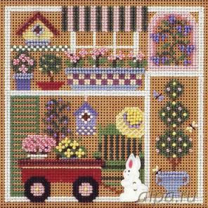 Садовая вечеринка Набор для вышивания MILL HILL