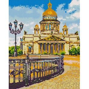 Исаакиевский собор Алмазная мозаика на подрамнике GF466