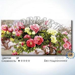Количество цветов и сложность С пожеланием процветания Раскраска по номерам на холсте Hobbart