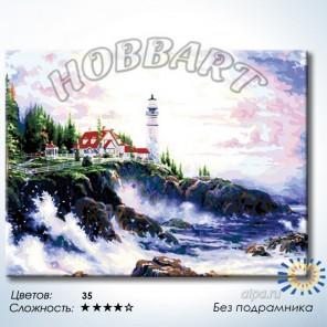 Количество цветов и сложность Стихия воды Раскраска по номерам на холсте Hobbart