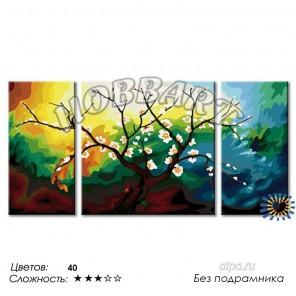 Количество цветов и сложность После зимнего сна Раскраска по номерам на холсте Hobbart PH360120038