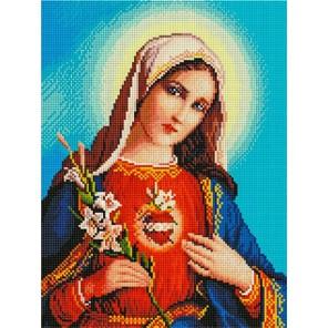 Дева Мария Алмазная мозаика на подрамнике EF438