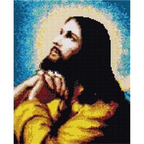 Иисус Алмазная мозаика на подрамнике EF079