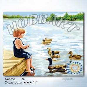 Количество цветов и сложность Привет, друзья! Раскраска по номерам на холсте Hobbart HB4050222
