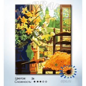Количество цветов и сложность Английский полдень Раскраска по номерам на холсте Hobbart HB4050305-LITE