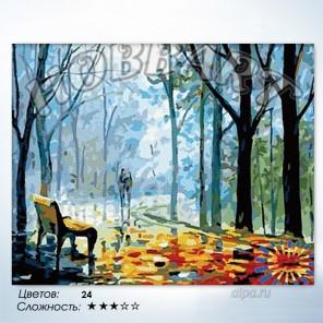 Количество цветов и сложность Туманная аллея Раскраска по номерам на холсте Hobbart HB4050097