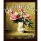В рамке Нежный Раскраска по номерам на холсте Hobbart HB4050106