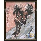 В рамке Свобода Раскраска по номерам на холсте Hobbart HB4050111