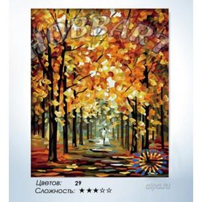 Количество цветов и сложность Сияние Раскраска по номерам на холсте Hobbart HB4050128