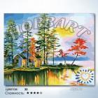 Количество цветов и сложность Заимка Раскраска по номерам на холсте Hobbart HB4050159