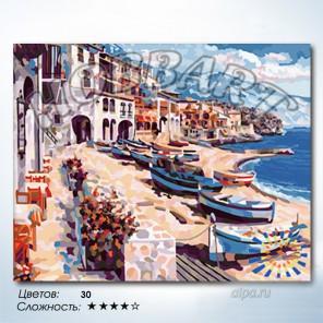 Количество цветов и сложность Палермо Раскраска по номерам на холсте Hobbart HB4050167