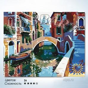 В рамке Венецианская Раскраска по номерам на холсте Hobbart HB4050039