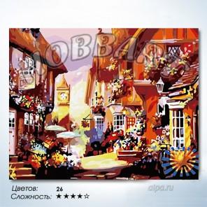 Количество цветов и сложность Старая Европа Раскраска по номерам на холсте Hobbart HB4050049