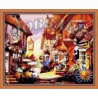 В рамке Старая Европа Раскраска по номерам на холсте Hobbart HB4050049