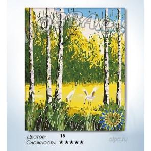 Количество цветов и сложность Журавлиный крик Раскраска по номерам на холсте Hobbart HB4050058