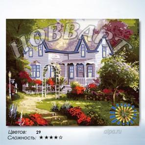 Количество цветов и сложность Дом там, где сердце Раскраска по номерам на холсте Hobbart HB4050082