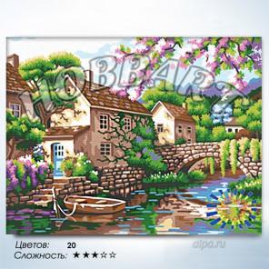 Количество цветов и сложность Причал надежды Раскраска по номерам на холсте Hobbart HB3040152-LITE