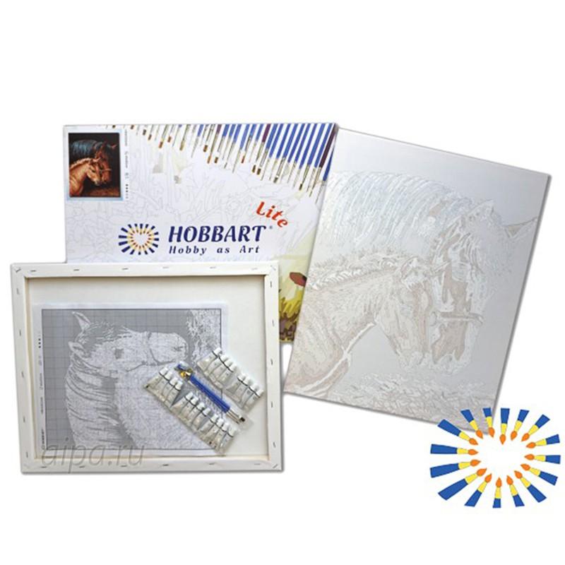 безмятежный берег раскраска по номерам на холсте Hobbart Hb3040159 Lite