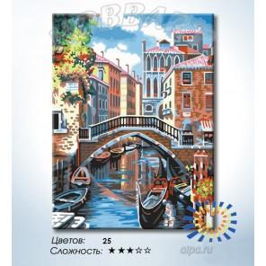 Количество цветов и сложность Среди каналов Раскраска по номерам на холсте Hobbart HB3040165-LITE