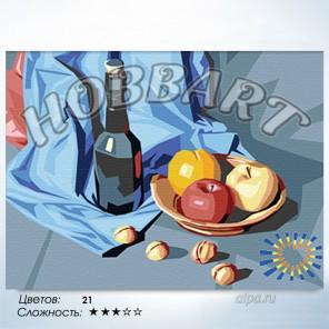 Количество цветов и сложность Апперетив Раскраска по номерам на холсте Hobbart HB3040003
