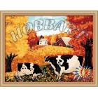 В рамке Коровы Раскраска по номерам на холсте Hobbart HB3040031